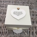 Shabby Personalised Chic Auntie Aunty Great Aunt Gift Trinket Box Jewellery Box - 332401623561
